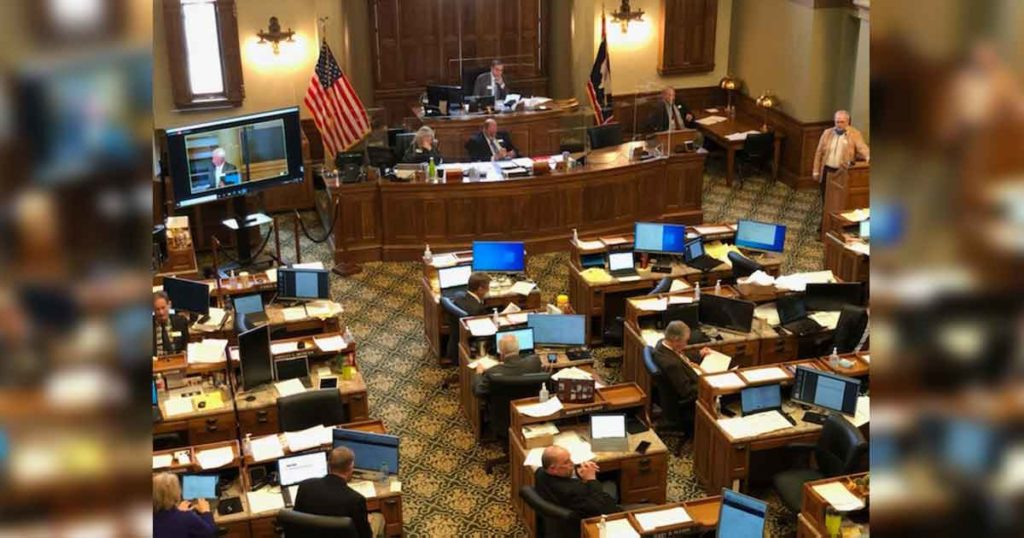 Wyoming Legislature Will Not Convene Tomorrow Due to Winter Storm Aftermath