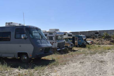 Sweetwater County to Vacate Abandoned Vehicle Lot