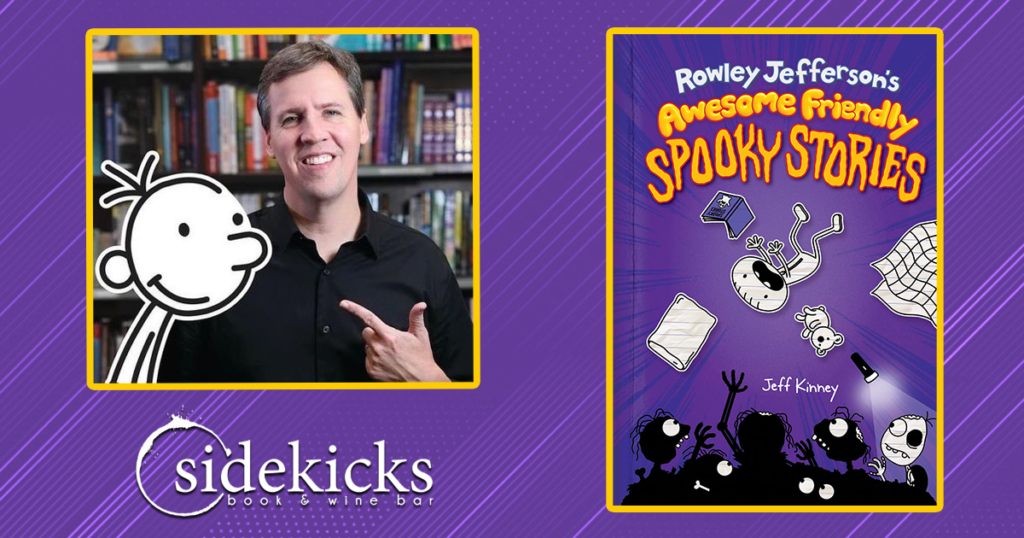 Sidekicks Book Bar to Host Spooky FUN Drive-Thru Author Event!