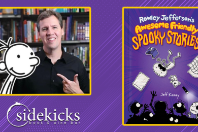 Sidekicks Book Bar to Host Spooky FUN Drive-Thru Author Event!