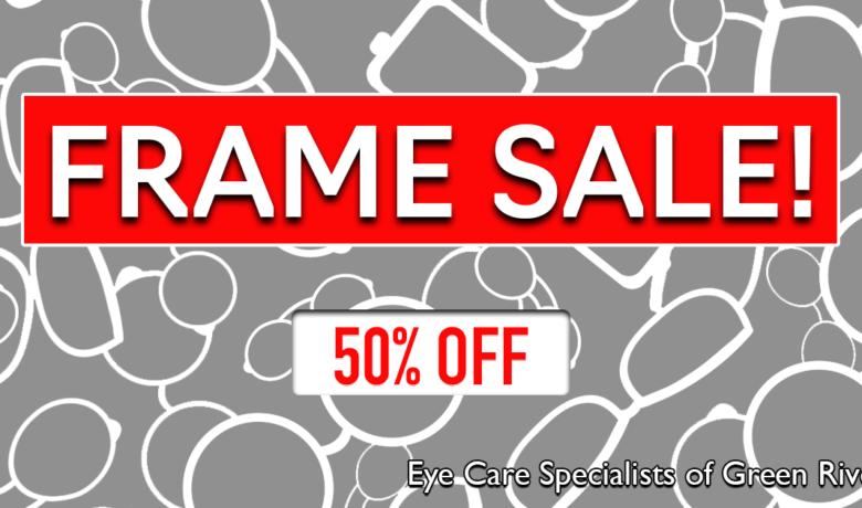 Get Top Brand Glasses Frames for HALF PRICE!