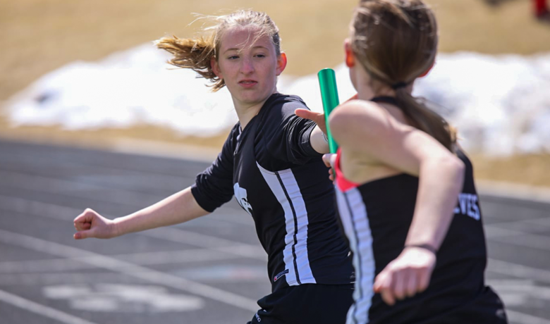 Wolves, Tigers Compete in First Track Meet of the Season