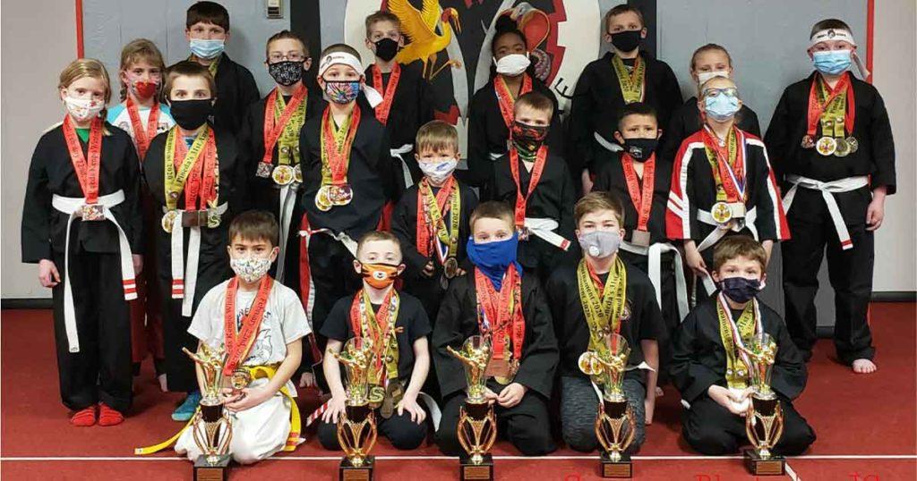 Twelve Named Champions at Pineda's Kenpo Karate Tournament