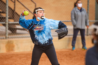 Making History: Lady Tigers Take to the Field for First High School Softball Practice