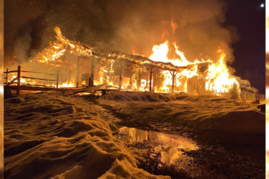 Sublette County Fire Crews Battle Two Structure Fires
