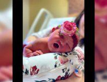 Birth Announcement: Areylee Ann Rose Caron
