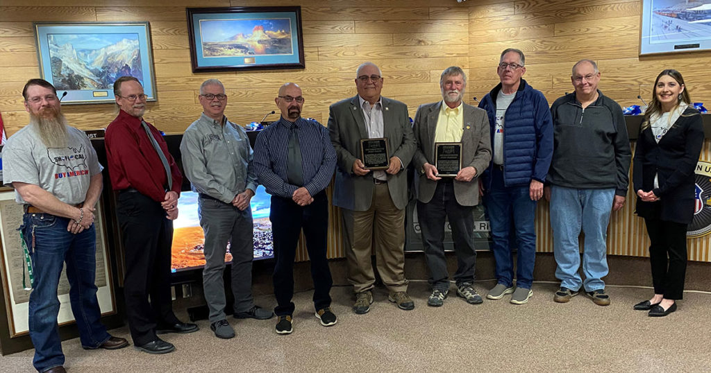 Longtime Local Legislators Honored by Green River City Council
