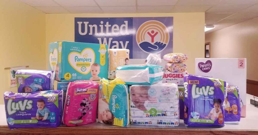 United Way of Southwest Wyoming Kicks Off Spring Diaper Drive