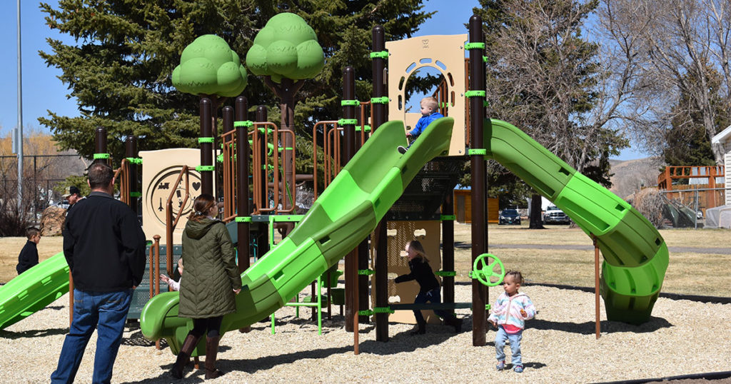 Edgewater Park Receives Upgraded Playground Equipment