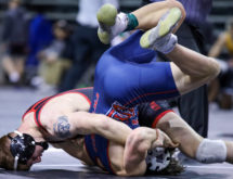 Six Mustangs Headed to Quarterfinals in NJCAA Wrestling Championships