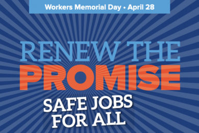 Join SWCLC in Observing Worker's Memorial Day on April 28th