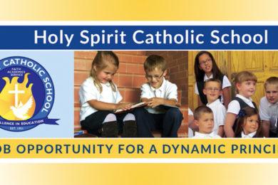 Holy Spirit Catholic School is Seeking a Faith-Filled, Dynamic Principal