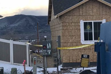 PHOTOS: Rock Springs Firefighters Respond to House Explosion