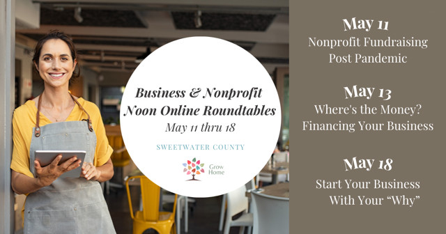 [REGISTER] Free Online Roundtables for Businesses & Non-Profits