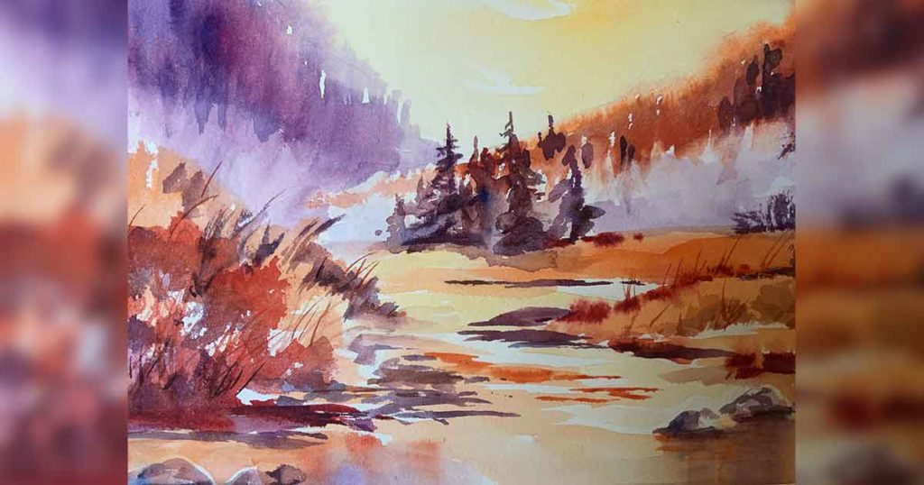 The Scotch and Watercolor Society's Artwork Featured at CFAC